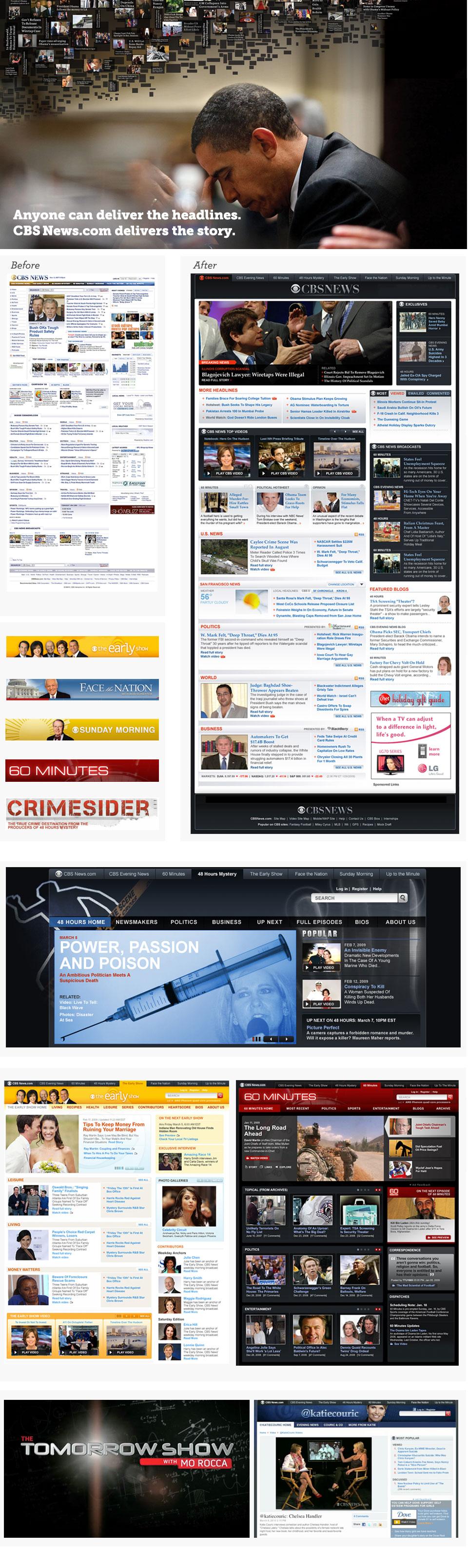 CBSNews.com redesign